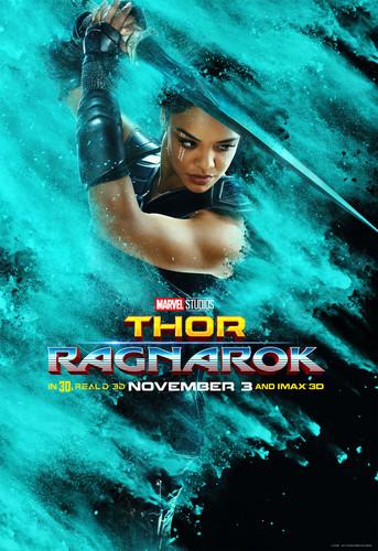 Thor: Ragnarok দেওয়ালপত্র called Thor: Ragnarok - Character Poster - Valkyrie