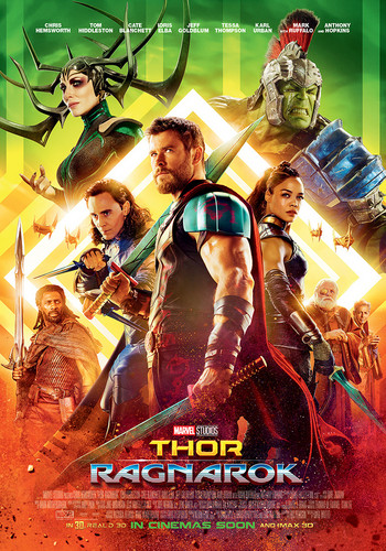 Thor: Ragnarok پیپر وال entitled Thor: Ragnarok - New Poster