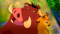 Timon,Pumbaa,and Simba  - the-lion-king wallpaper