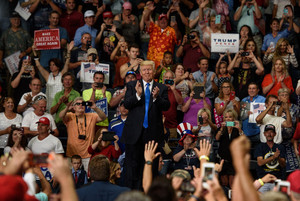 Trump Holds Rally in Ohio - July 25, 2017