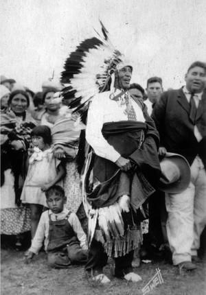 Tsa To Ke aka Hunting Horse (Kiowa) sejak Swett 1910