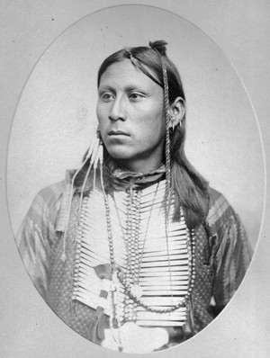 Tsi-lo-son (Kiowa) son of Salanta 1870-1890