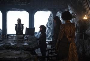 Tyrion, Daenerys, Ellaria and Yara 7x02 - Stormborn