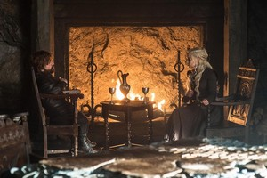 Tyrion Lannister and Daenerys 7x06 - Beyond the دیوار