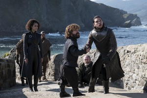 Tyrion, Missendei, Davos and Jon 7x03 - The Queen's Justice