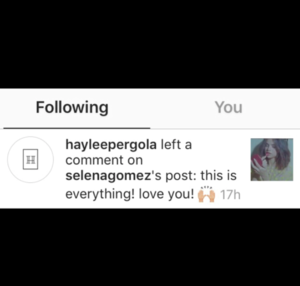 Update: Haylee and Selena Gomez  + screen shots!