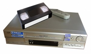 video kassette, videokassette Recorder (VCR)