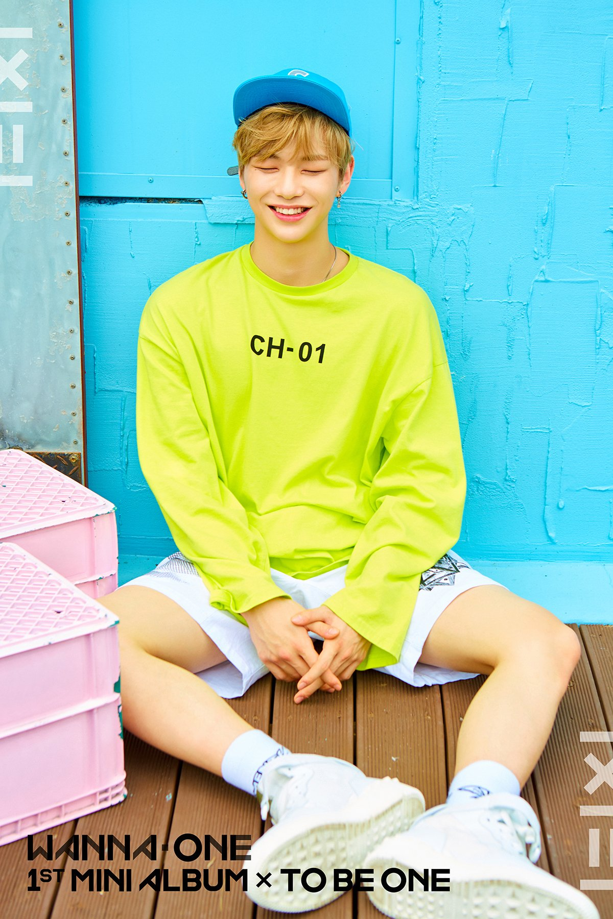 WANNA ONE Teaser 이미지 for Debut Album 1X1=1(TO BE ONE) (Pink Vers.)