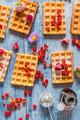 Waffles - food photo
