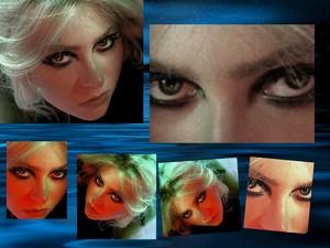 mural of Eyes