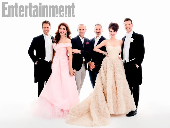 Will and Grace on Entertainment Weekly