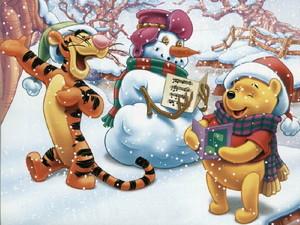 Winnie the Pooh Christmas christmas 2735471 1024 768