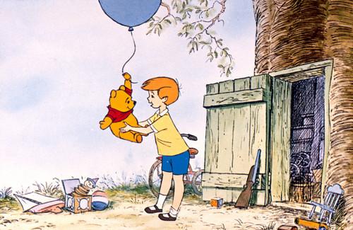 O Ursinho Puff wallpaper called Winnie the Pooh