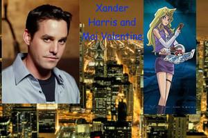 Xander Harris and Mai Valentine