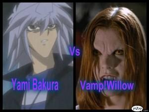 Yami Bakura Vs VampWillow