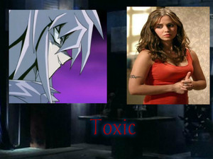 Yami Bakura and Faith Lehane