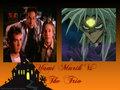 Yami Marik Vs The Trio - buffy-the-vampire-slayer fan art