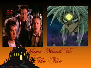 Yami Marik Vs The Trio