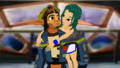 Your always be my hero Jak  Keira Hagai  MMD   - jak-and-daxter photo