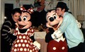 Hanging Out With Mickey And Minnie - disney photo