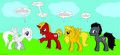 alpha and omega as ponies by starswordiscool - alpha-and-omega fan art