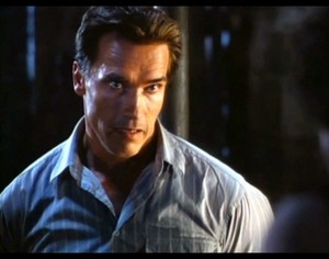 arnold schwarzenegger as harry tasker in