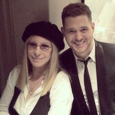 Barbra And Michael Buble
