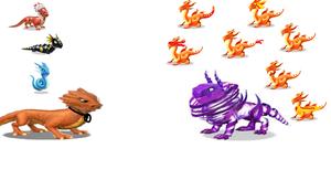 battle of ドラゴン