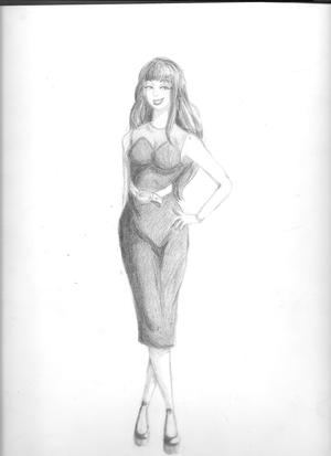 curvy vamp lady