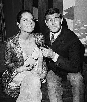 Diana Ring And George Lazenby