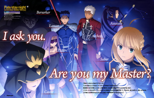 Fate Series fondo de pantalla titled fate series