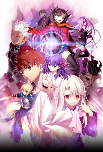 Fate Series kertas dinding entitled fate series