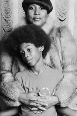 Aretha And Youngest Son, Kelcalf