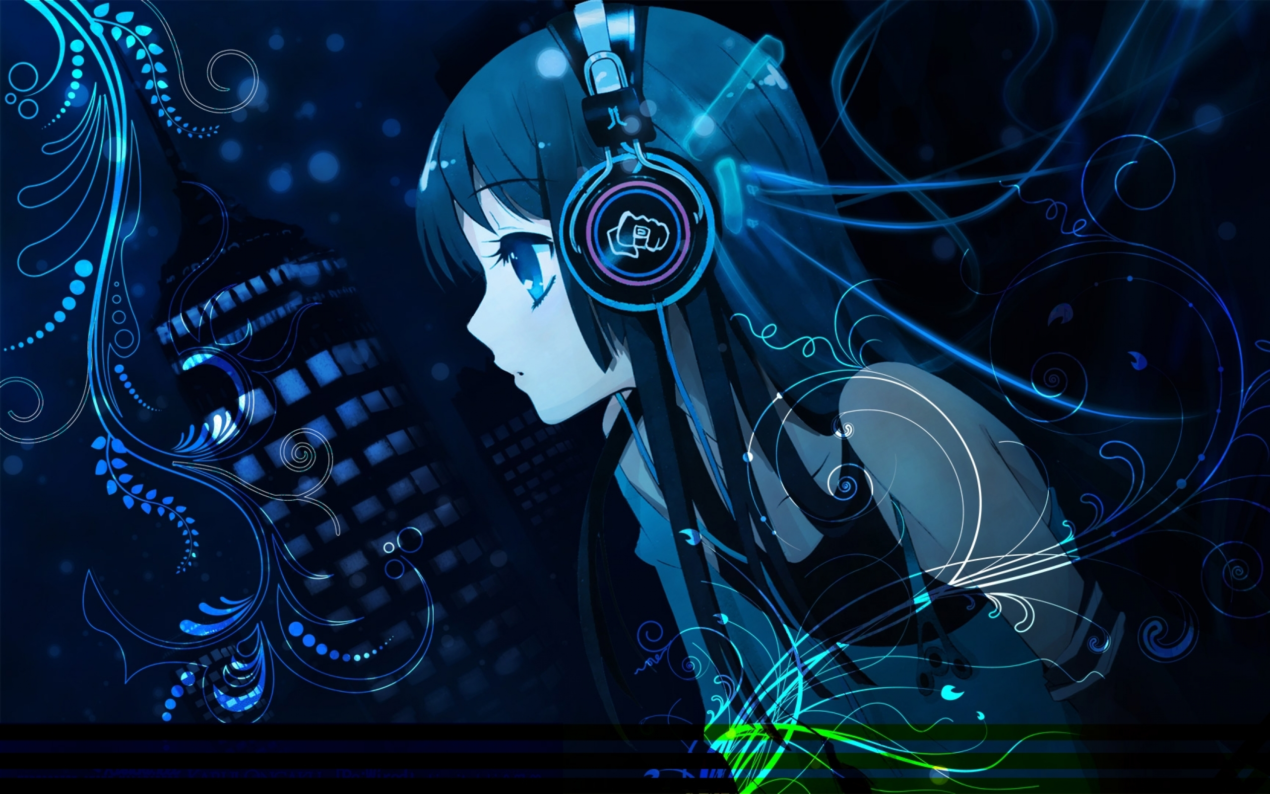 Erosu Images Headphones Abstract Music Kon Akiyama Mio Anime Girls Wallpaper Hd X Www Paperhi Com Hd Wallpaper And Background Photos
