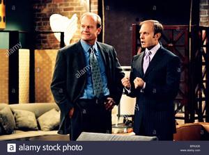 kelsey grammer david hyde pierce frasier season 11 2003 BPKA35