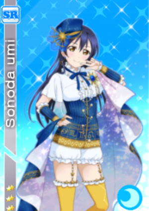 love live card design umi