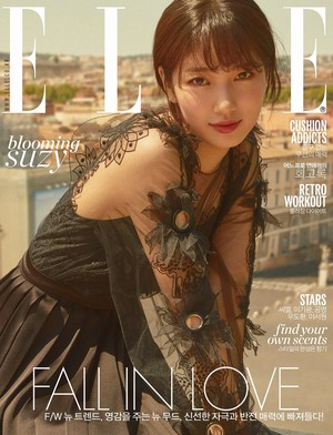 miss A's Suzy for ELLE Magazine September Issue