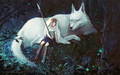 mononoke-hime. - princess-mononoke wallpaper