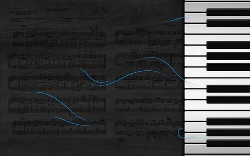 âm nhạc hình nền called pianosonata