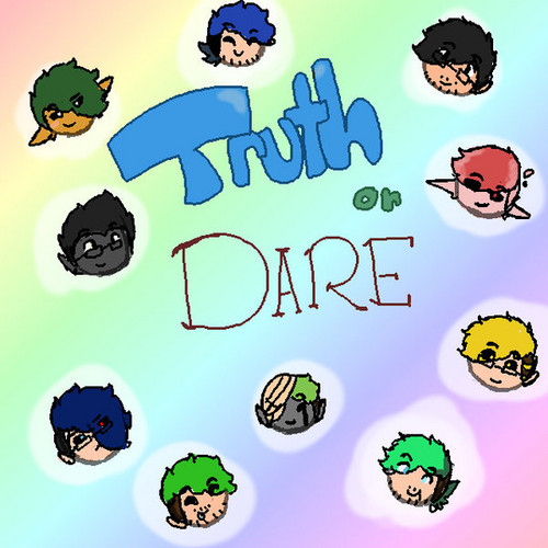 TRUTH o DARE and...read Lema fondo de pantalla entitled truth o dare