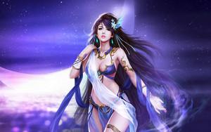 achtergrond fantasy girl hd 33 1