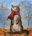 Autumn  Kitty  - cats fan art