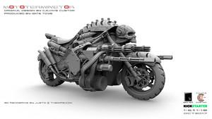 Calvin's Custom X GATE TOYS 1/6 OneSixthScale Original Design MOTOTERMIN8TOR