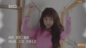 [EXID Photobook Project] whoz that girl? EXID! teaser03.HYELIN ::Makestar