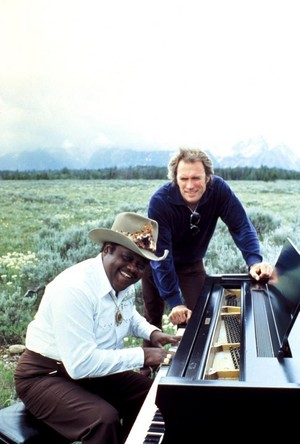 Fats Domino with Clint Eastwood ~promo pic for Any Which Way tu Can