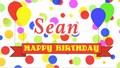 Happy (Irish) Birthday Seán!