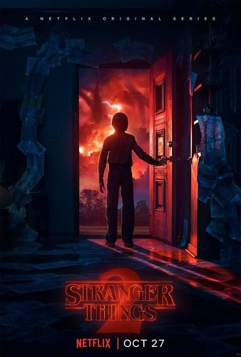 Stranger Things Обои entitled 'Stranger Things' Season 2 Promotional Poster