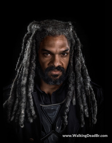 The Walking Dead پیپر وال called Season 8 Character Portrait #1 ~ Ezekiel