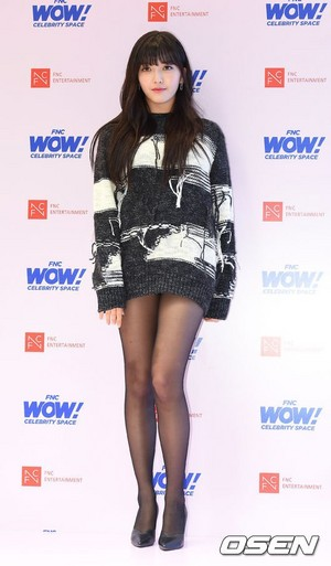171012 AOA's Chanmi @ FNC WOW! Celebrity luar angkasa Opening Party