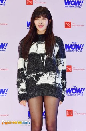 171012 AOA's Chanmi @ FNC WOW! Celebrity Space Opening Party